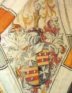 Wappen des Herrenmeisters v. Alvensleben in Sonnenburg